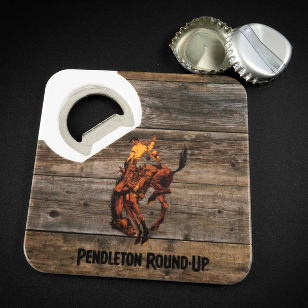 Pendleton Round-Up Magnetic Bottle Opener Coaster