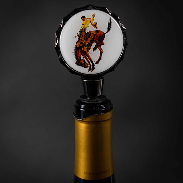 Pendleton Round-Up Wine Stopper
