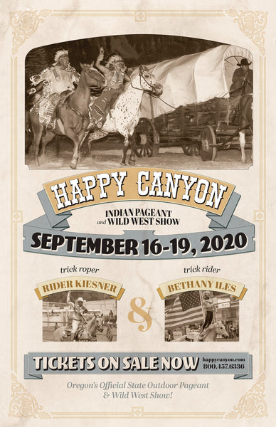 2020 Happy Canyon Poster