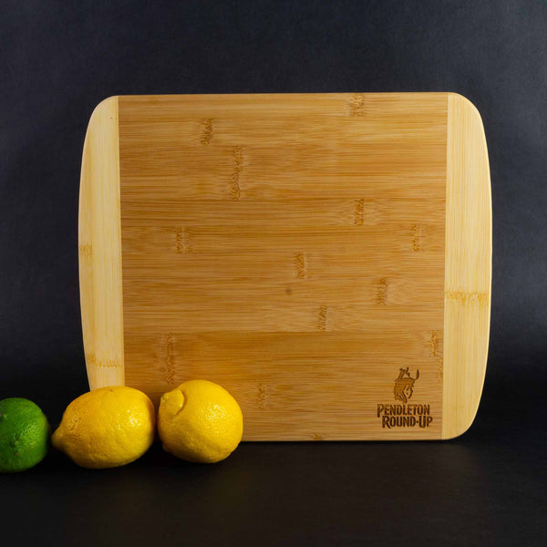 Pendleton Round-Up Bamboo Cutting Board