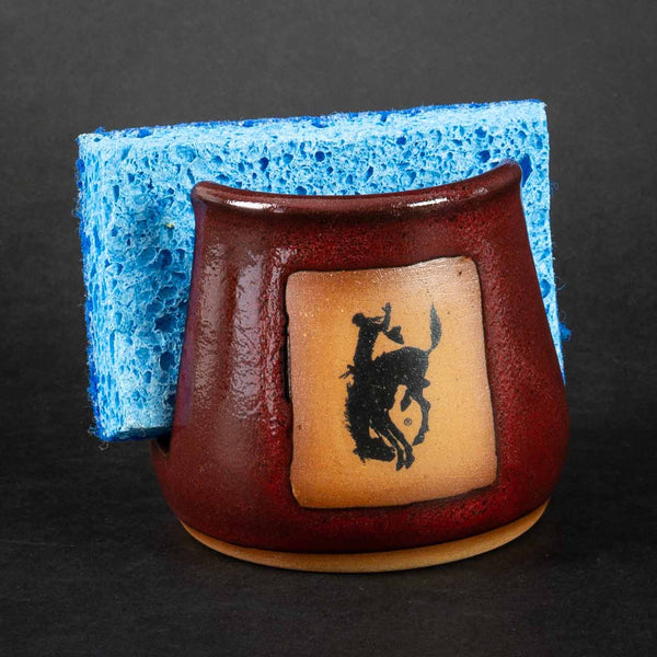 Pendleton Round-Up Pottery Napkin/Sponge Holder