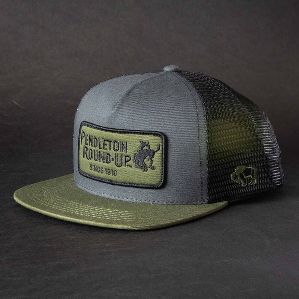 Pendleton Round-Up Green Patch Hooey Hat