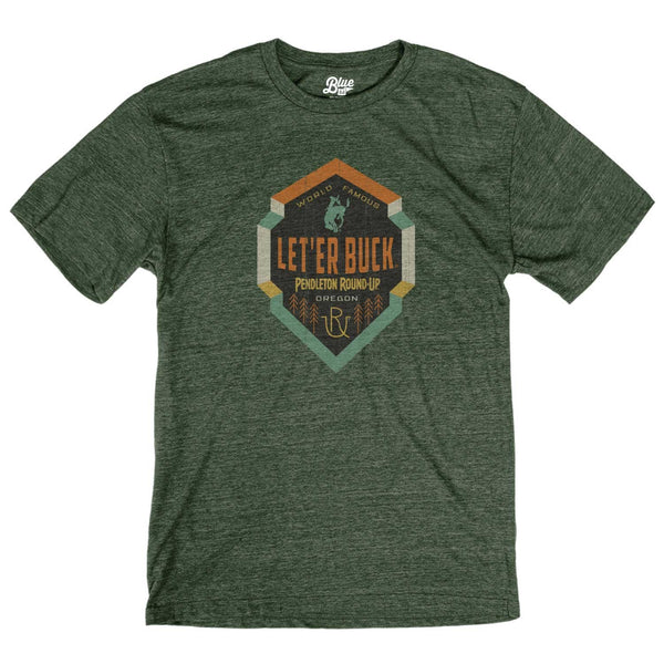 Men's Pendleton Round-Up Carrack Forest Tee