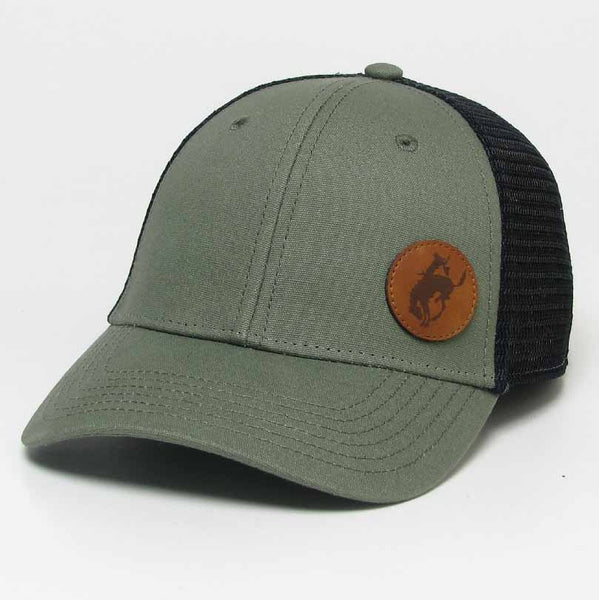 Youth Pendleton Round-Up Olive Chucky Hat