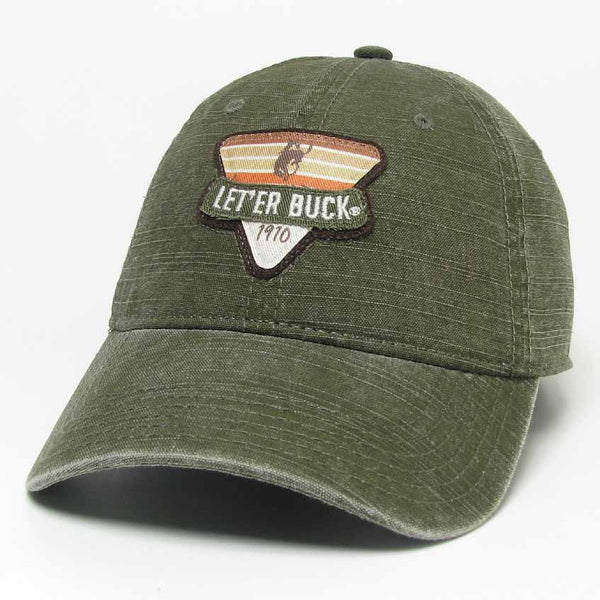 Pendleton Round-Up Olive Slub Canvas Hat