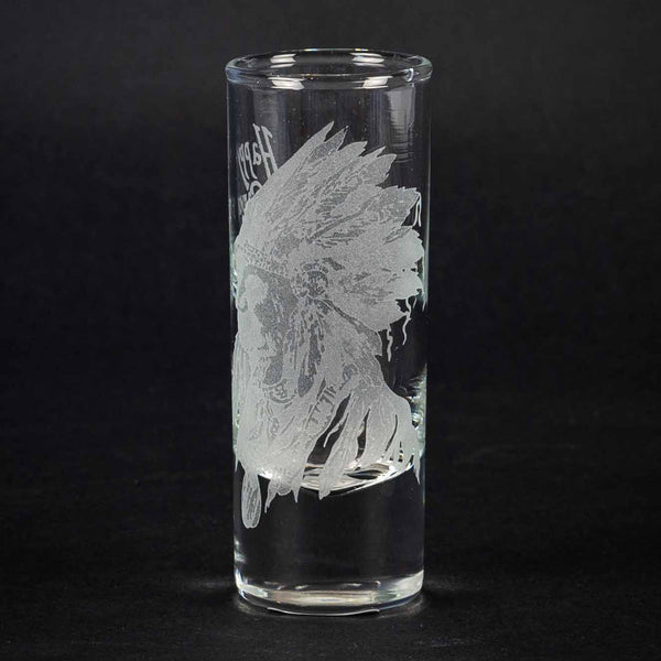 Happy Canyon Crystal Shot Glass