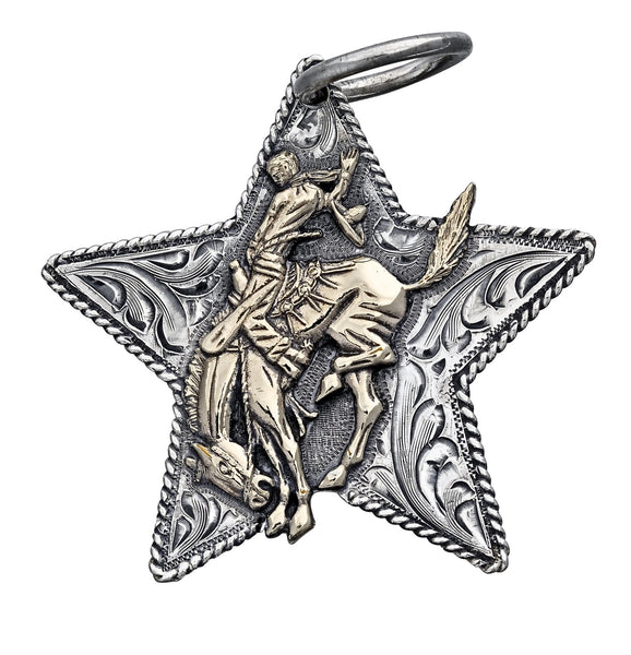 Pendleton Round-Up Vogt Filigree Star Pendant