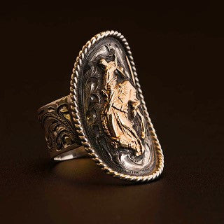 Vogt Pendleton Round-Up Bucking Horse Ring