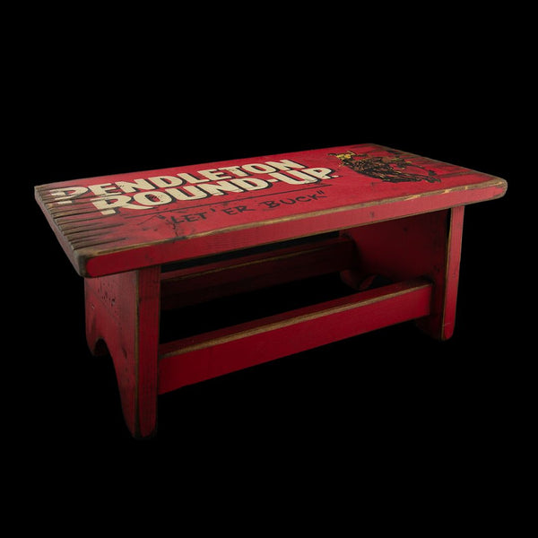 Pendleton Round-Up Step Stool