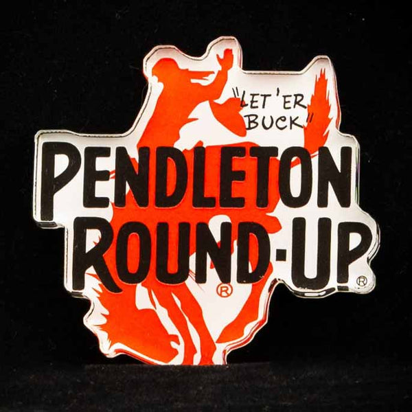 Pendleton Round-Up Cut Out Magnet