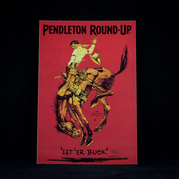 Pendleton Round-Up Postcard