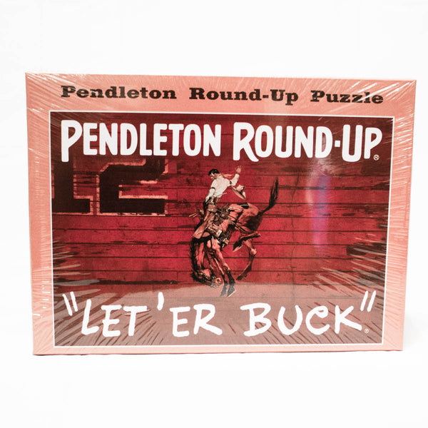 Pendleton Round-Up Jigsaw Puzzle