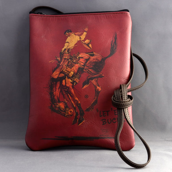 Red Pendleton Round-Up Cross Body Purse