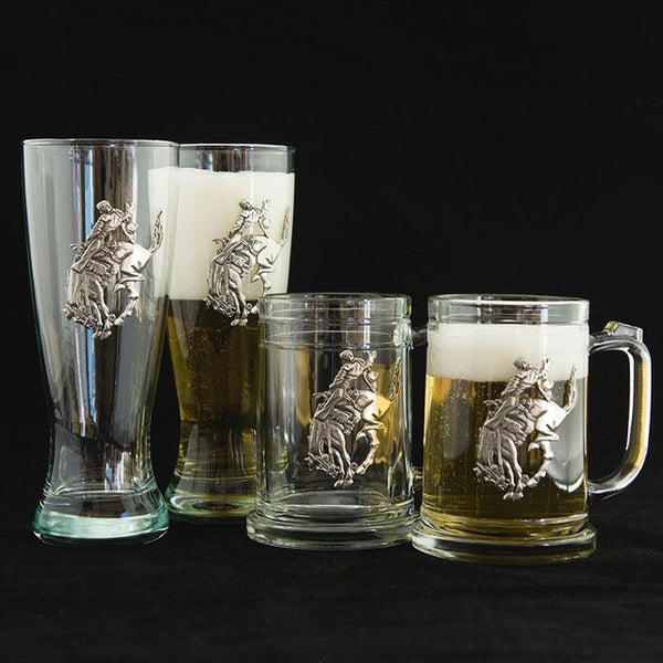 Pendleton Round-Up Pewter Beer Glass Boxed Set