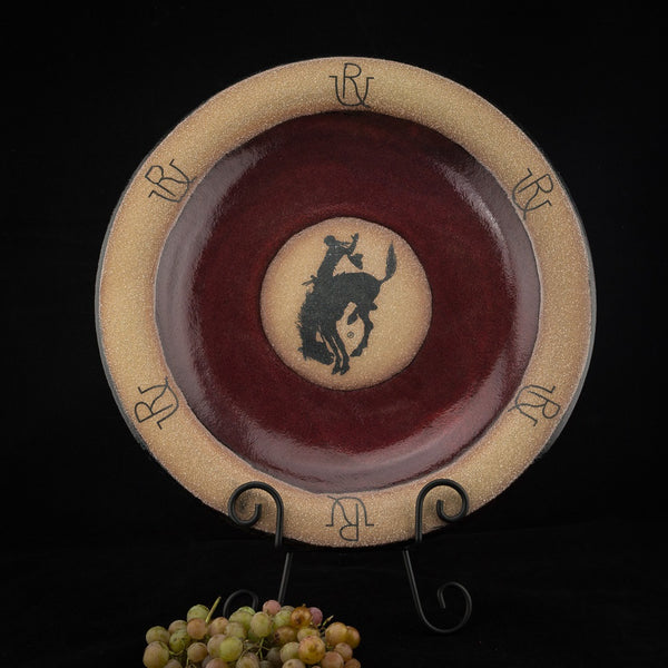 Pendleton Round-Up Small Round Pottery Platter
