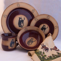 Pendleton Round-Up Pottery Place Setting