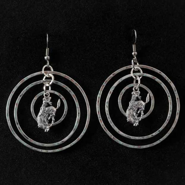Pendleton Round-Up Vogt Compass Earrings