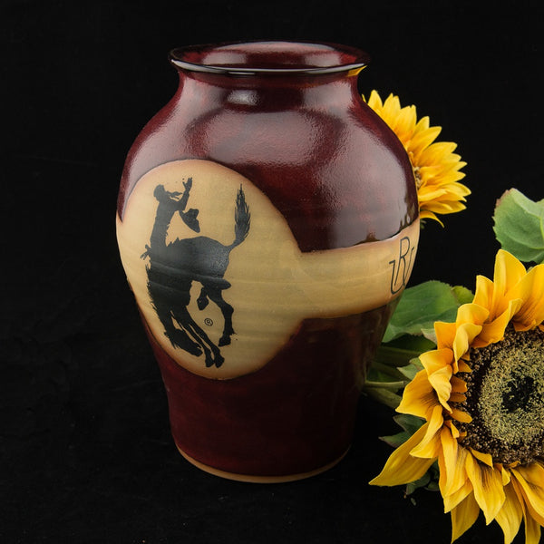 Pendleton Round-Up Pottery Vase