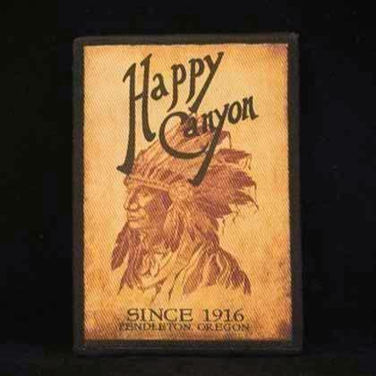 Happy Canyon Collectible Iron-On Patch