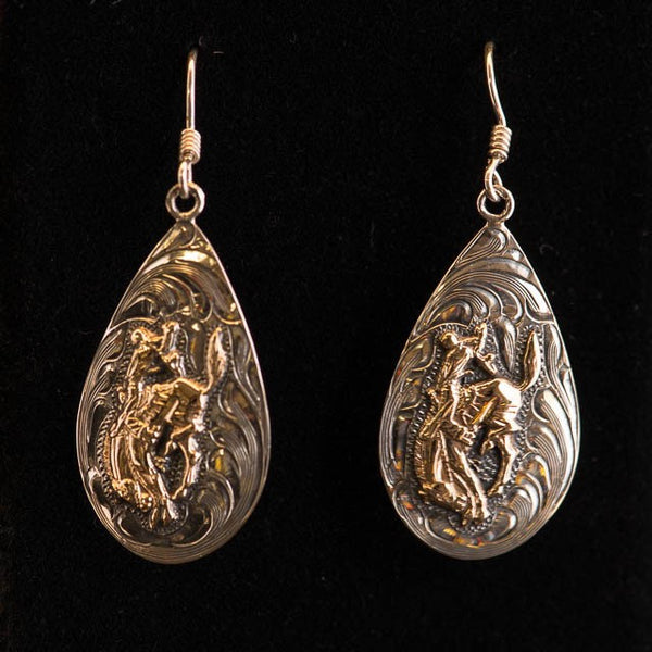 Vogt Pendleton Round-Up Tear Drop Earrings