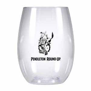 Pendleton Round-Up Plastic Wine Glass