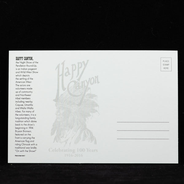 Happy Canyon Bryson & Chinook Postcard