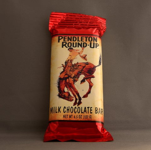 Pendleton Round-Up Milk Chocolate Bar