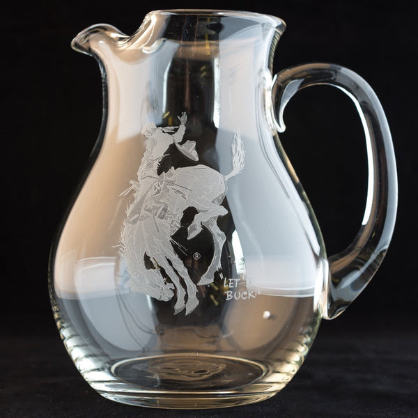 Pendleton Round-Up Crystal Pitcher