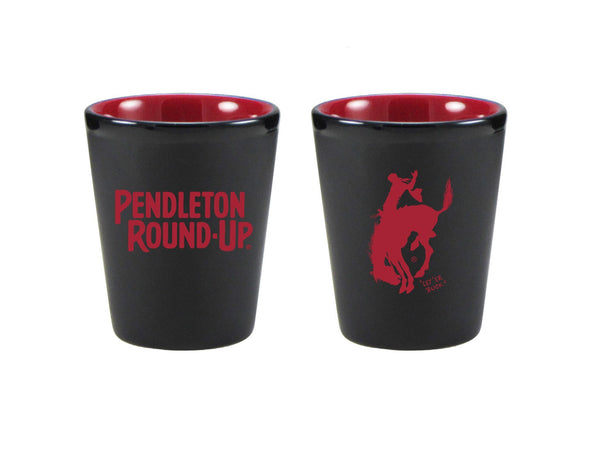 Pendleton Round-Up Matte Shot Glass