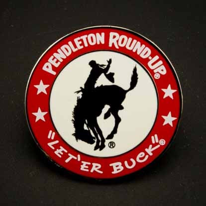 Non-Dated Pendleton Round-Up Lapel Pin
