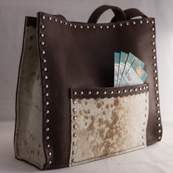 Pendleton Round-Up Hair-On Cowhide Purse