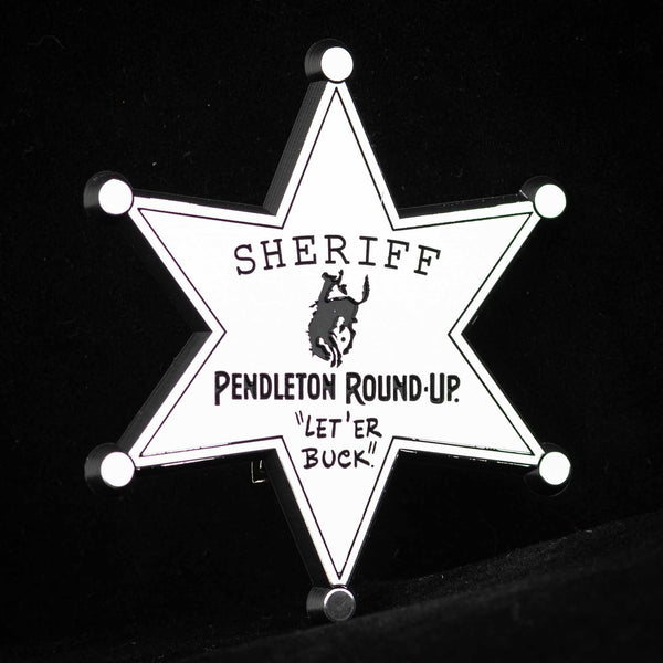 Pendleton Round-Up Sheriff Badge