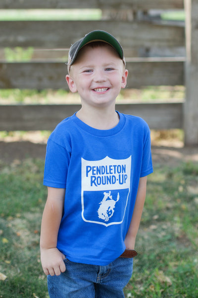 Toddler Pendleton Round-Up Back Number Tee