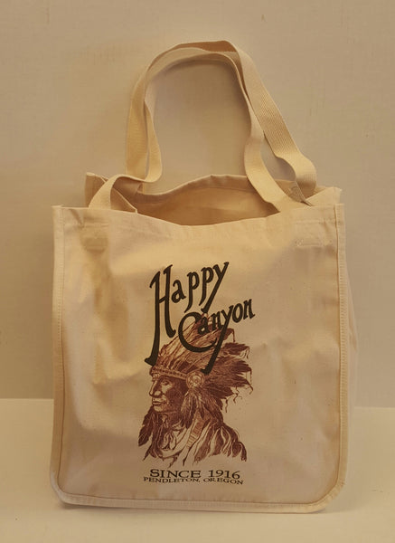 Happy Canyon Centennial Canvas Tote Bag
