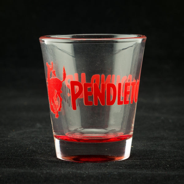 Pendleton Round-Up Colorware Shot Glass