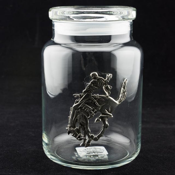 Pendleton Round-Up Pewter Jar