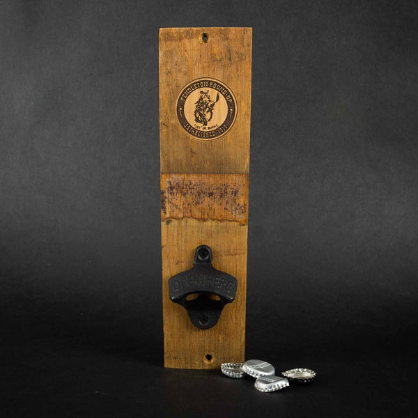 Pendleton Round-Up Wine Barrel Beer Bottle Opener