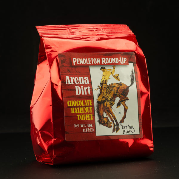 "Pendleton Round-Up ""Arena Dirt"" Chocolate Hazelnut Toffee"