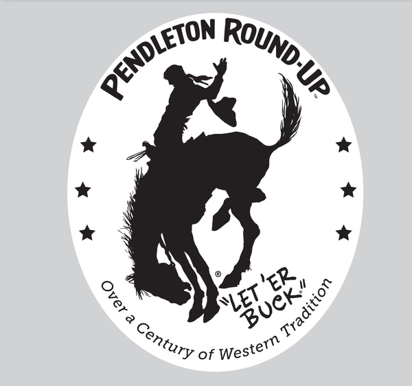 Large Pendleton Round-Up Car Magnet