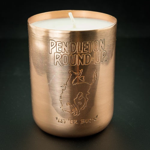 Pendleton Round-Up Wildlust Wicks Candle in Copper Jar