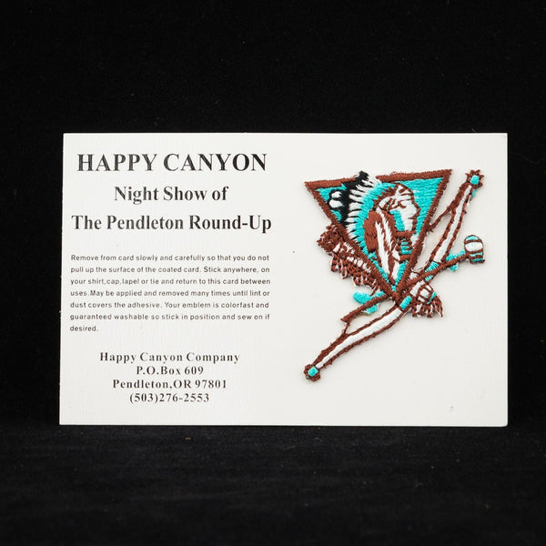 Happy Canyon Embroidered Sticker Patch