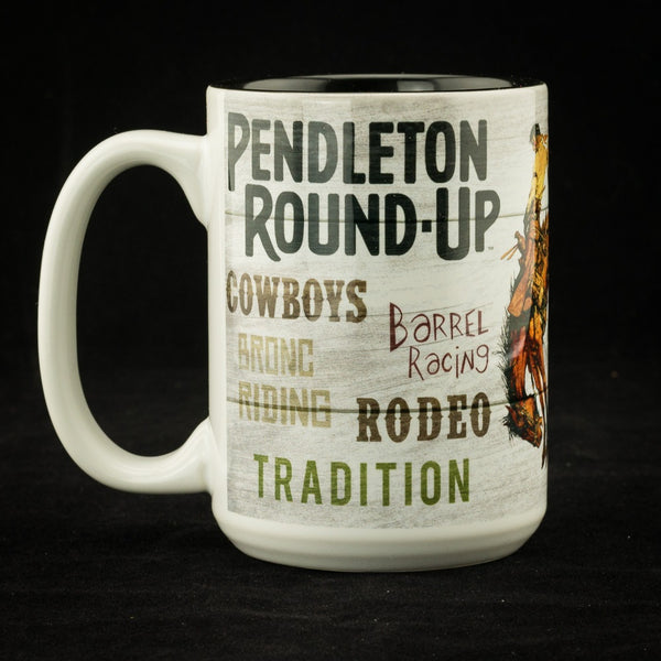 Pendleton Round-Up Typography Mug