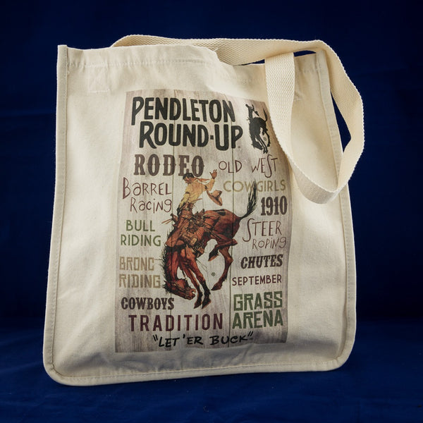Pendleton Round-Up Typography Tote Bag