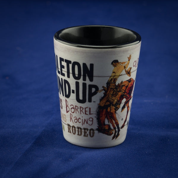 Pendleton Round-Up Typography Shot Glass