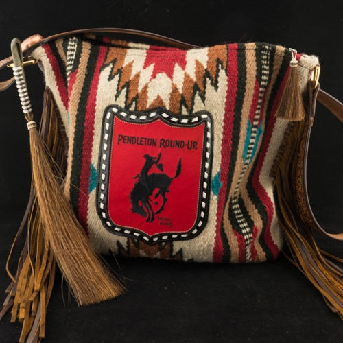 The Medicine Bag Saddle Blanket Tote w/ Pendleton Round-Up Back Number Patch (Pre-Order)