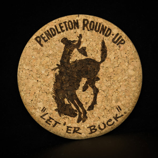 Pendleton Round-Up Cork Coaster