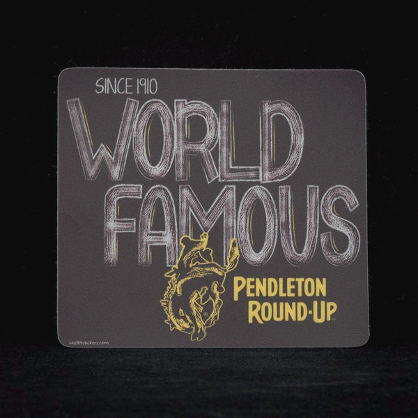 Pendleton Round-Up Cloudy Day Sticker
