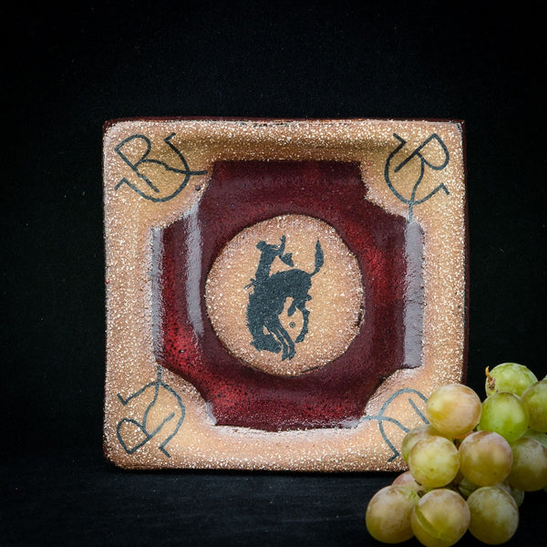 Small Pendleton Round-Up Square Pottery Tray