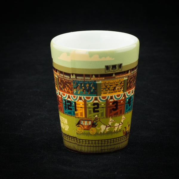 Pendleton Round-Up Geometric Shot Glass
