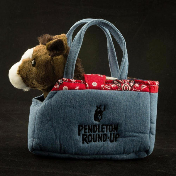 Pendleton Round-Up Toy Purse w/ Horse